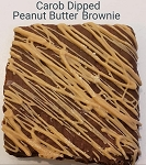 Peanut Butter Carob Brownie