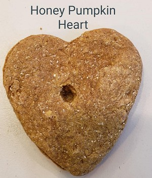 Honey Pumpkin Heart