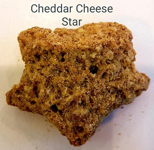 Cheddar Cheese Stars